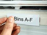 Aisle marker labels