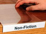 Shelf label holder