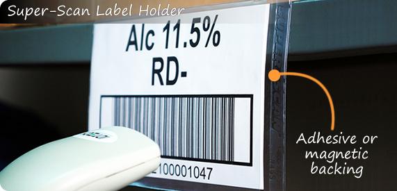 Super-Scan Label Holder