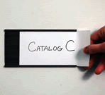 InchC Inch Channel Magnetic Card Holders
