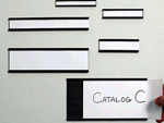 C-Channel Magnetic Card Holders
