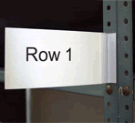 Aisle Marker Labels and Holders