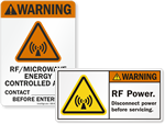 Magnetic Field Safety Labels