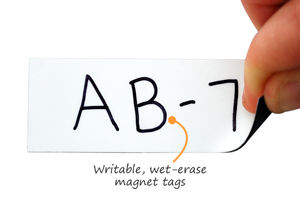 Write-On / Wipe-Off Labels
