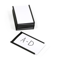 Magnetic 'C' Channel Label Holder, 1.6 in. x 3 in.