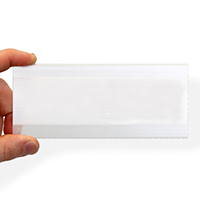 Holdex, 2-1/2 in. x 6 in., removable adhesive label holder