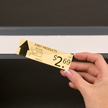Slip Strip, Label holder strips, 1-1/4 in. x 48 in.
