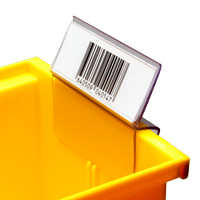 Bin Clip Label Holder