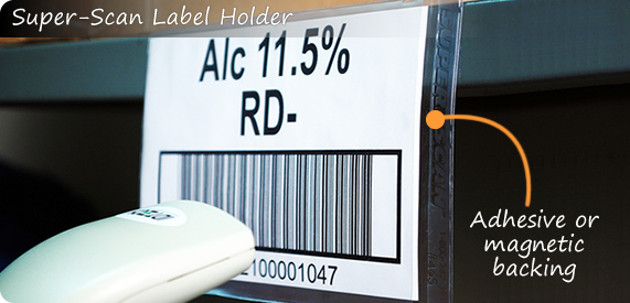 Super-Scan Label Holder