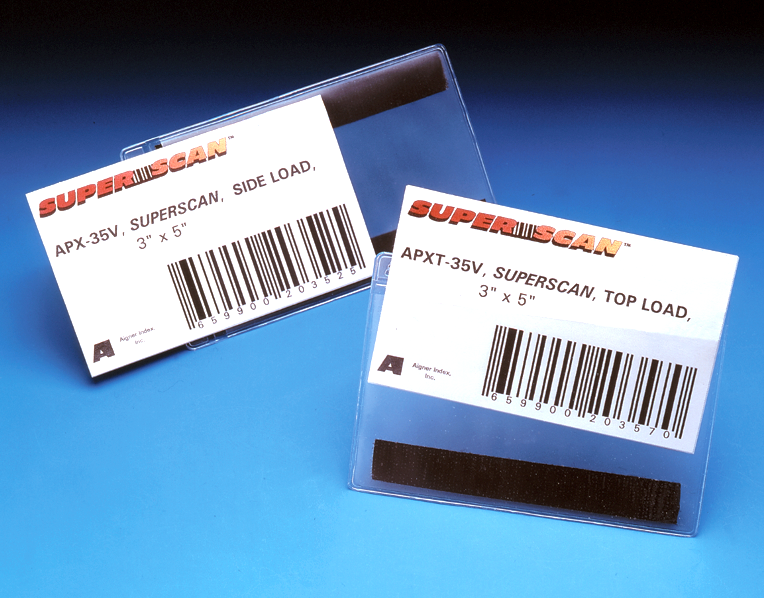 Superscan 174 Label Holders 3 In X5 In Magnetic Sku Lh 0203
